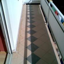 Fliesenlegung Balkon