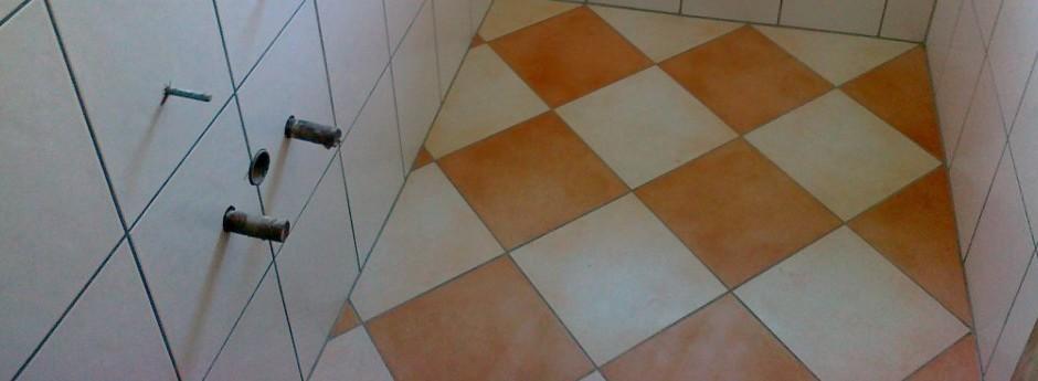 Fliesenverlegung WC